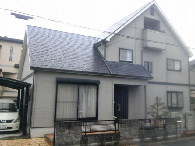 姫路市のO様邸の外壁塗装・屋根塗装施工前