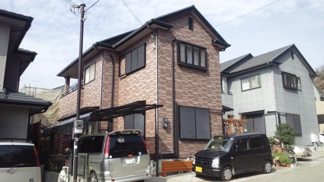 姫路市M様邸外壁塗装・屋根塗装の施工前