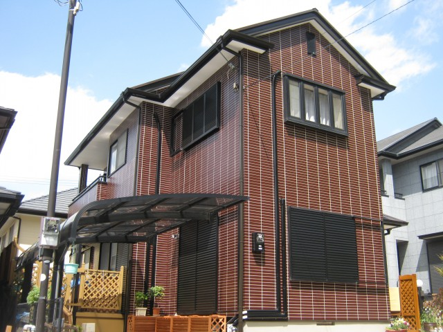 姫路市M様邸の外壁塗装・屋根塗装施工後