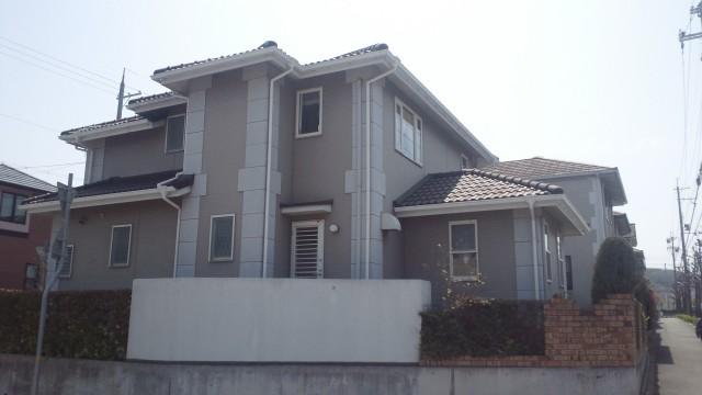 塗装前の神戸市O様邸