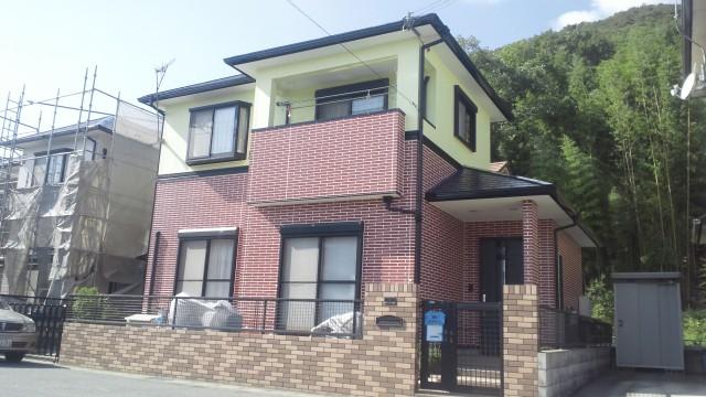 塗装後の姫路市M様邸