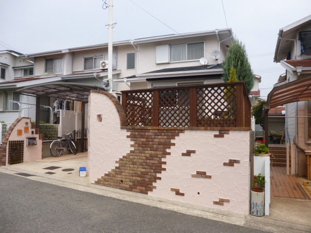 塗装後の兵庫県神戸市O様邸