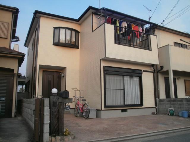 明るくなった塗装後の兵庫県加古川市H様邸