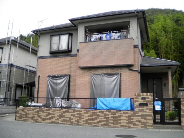 塗装前の姫路市M様邸