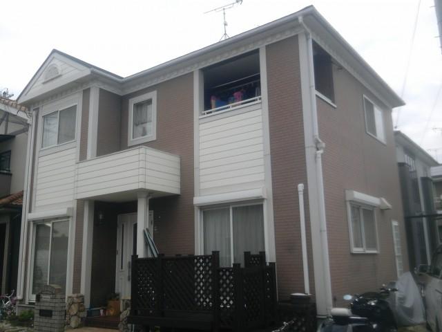 塗装前の兵庫県高砂市N様邸