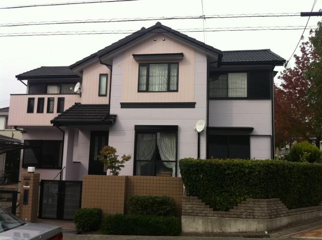 塗装後の兵庫県神戸市U様邸