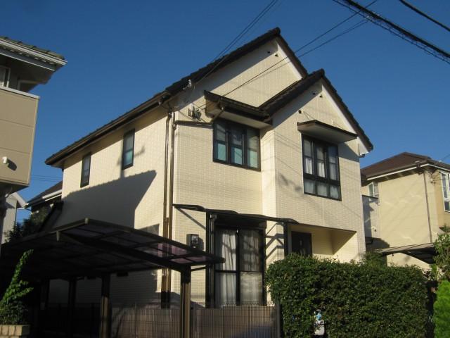 塗装後の兵庫県神戸市N様邸