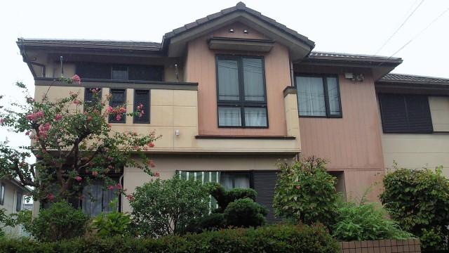 塗装前の神戸市K様邸