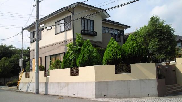 塗装後の神戸市Y様邸
