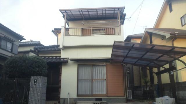 塗装後の加古川市M様邸