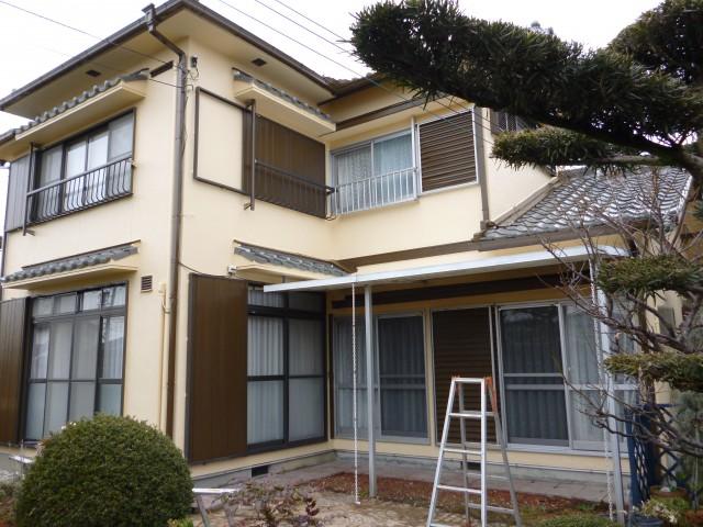塗装後の兵庫県明石市K様邸