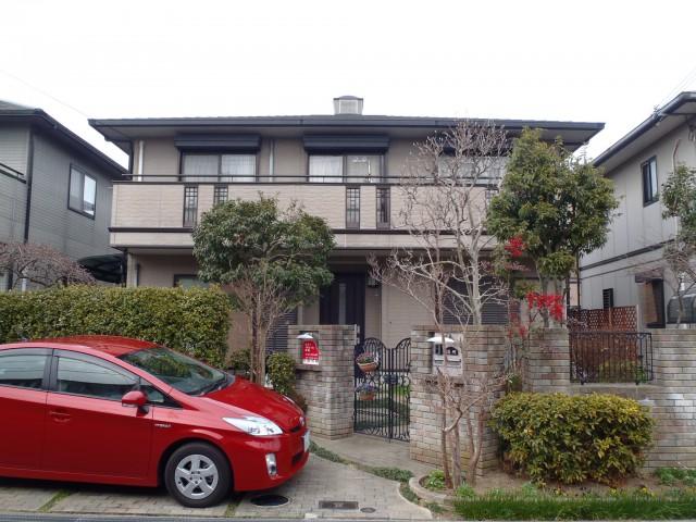 塗装前の神戸市F様邸