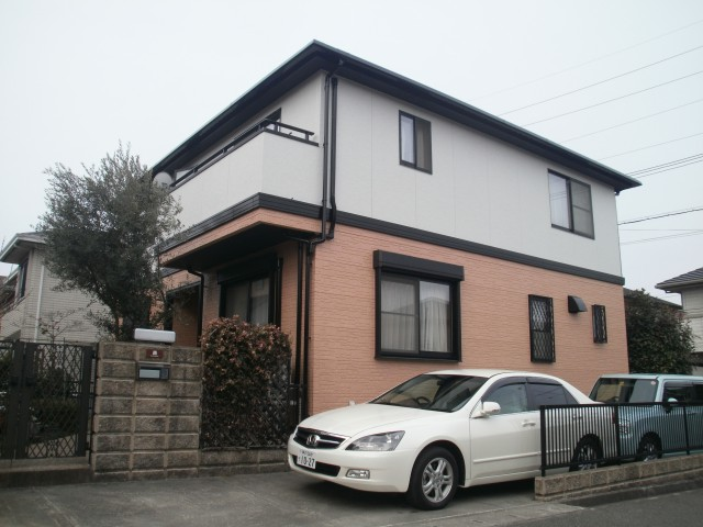 塗装後の兵庫県神戸市M様邸