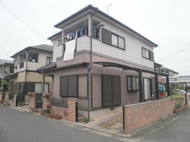 塗装前の兵庫県加古川市S様邸