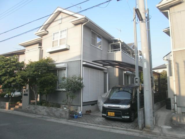 塗装前の加古川市E様邸