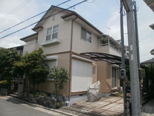 塗装後の加古川市E様邸