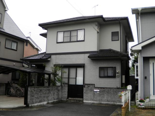 塗装前の兵庫県姫路市A様邸
