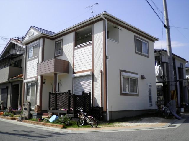 塗装後の兵庫県高砂市N様邸