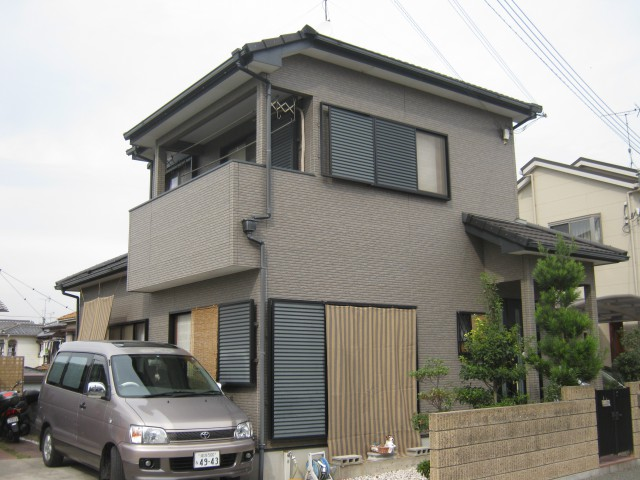 塗装前の加古川市T様邸