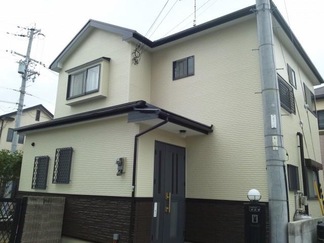塗装後の兵庫県加古川市N様邸