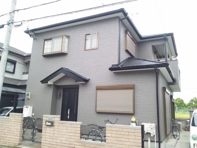 塗装後の加古川市A様邸
