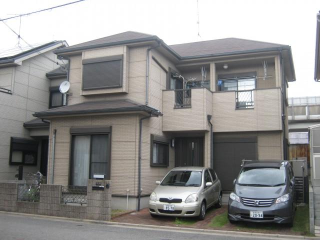 塗装前の加古川市C様邸