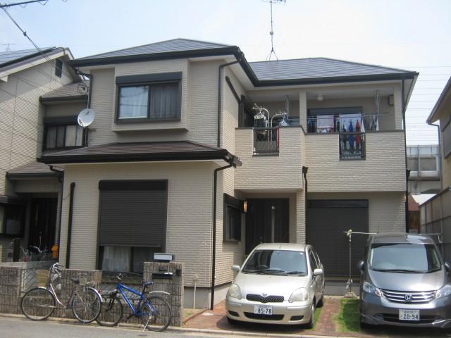 塗装後の加古川市C様邸