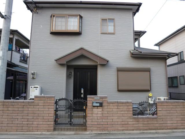 塗装前の加古川市A様邸