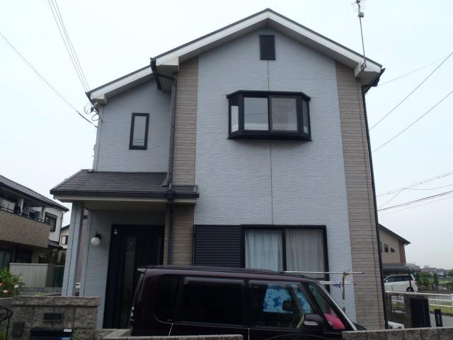 塗装前の加古川市K様邸