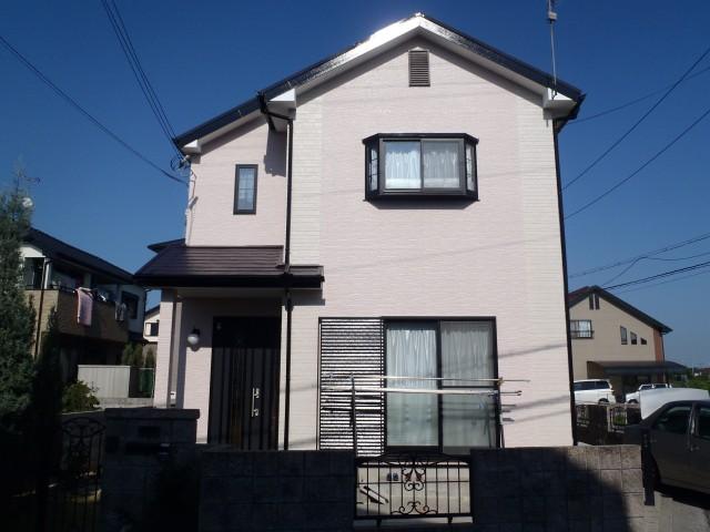 塗装後の加古川市K様邸