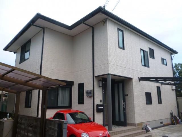 塗装後の兵庫県高砂市B様邸
