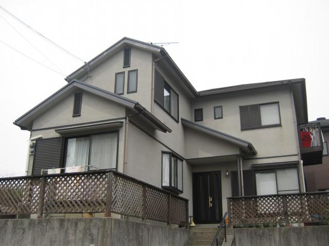 塗装前の兵庫県三田市M様邸