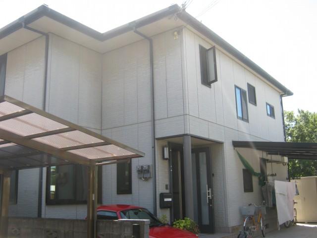 塗装前の兵庫県高砂市B様邸