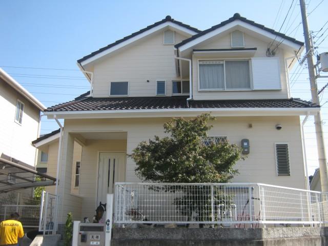 塗装後の兵庫県神戸市Y様邸