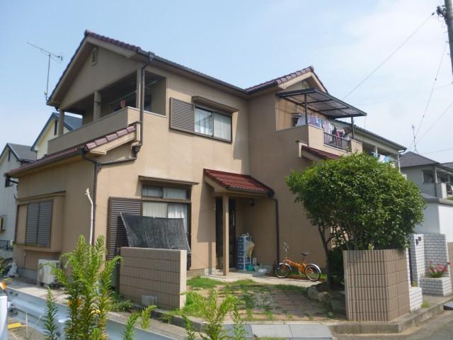 塗装後の兵庫県加古川市Y様邸
