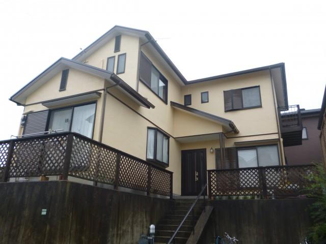 塗装後の兵庫県三田市M様邸