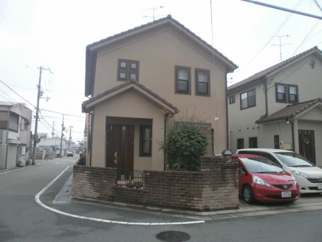 塗装前の兵庫県加古川市N様邸