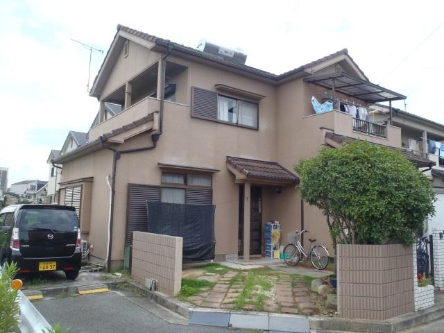 塗装前の兵庫県加古川市Y様邸