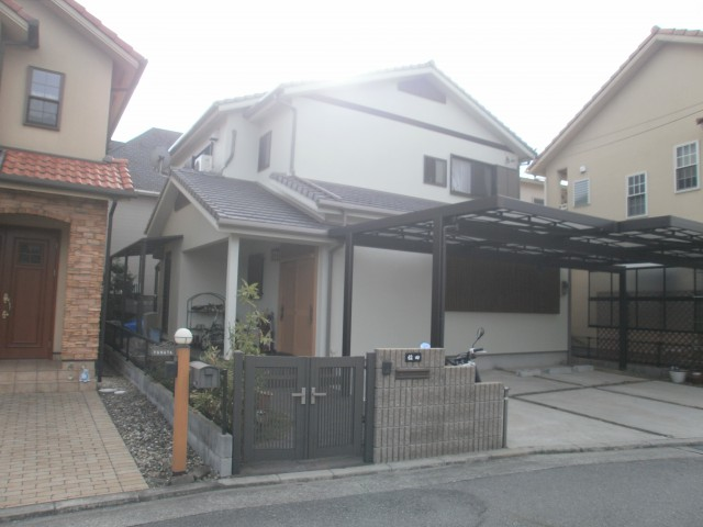 塗装後の兵庫県加古川市I様邸