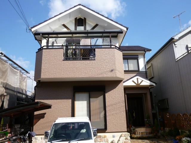 塗装後の神戸市T様邸