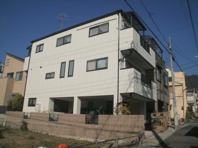 塗装後の兵庫県神戸市K様邸