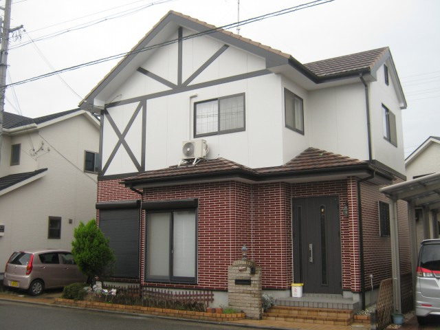 塗装後の兵庫県加古川市S様邸