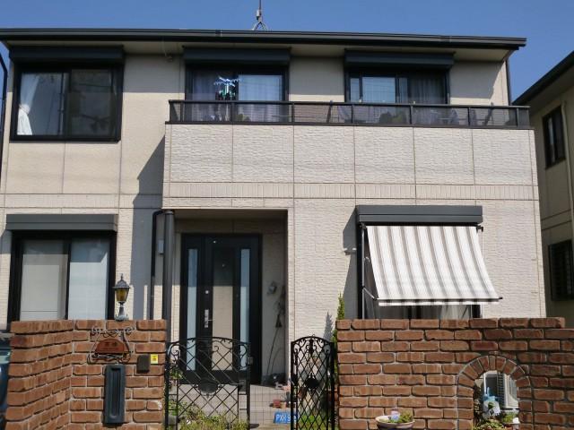 塗装前の兵庫県神戸市T様邸
