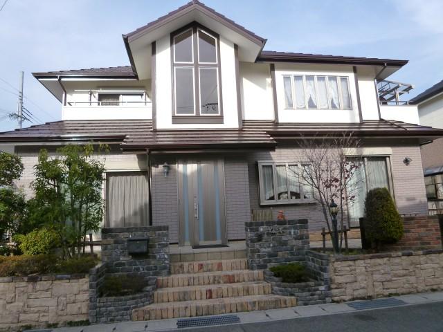 塗装後の兵庫県神戸市S様邸