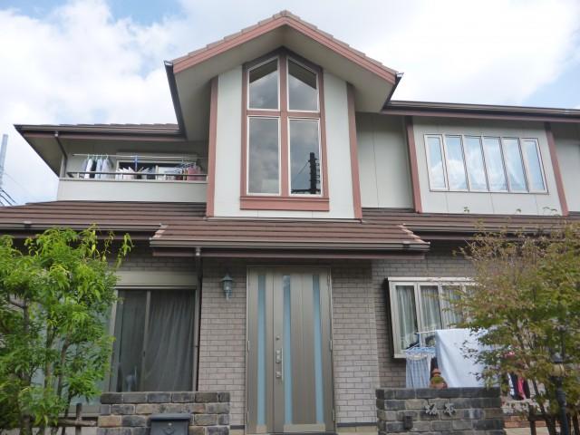 塗装前の兵庫県神戸市S様邸
