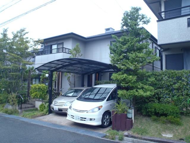 塗装前の兵庫県神戸市I様邸