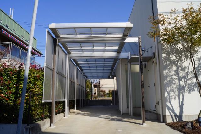 カーポートを設置した兵庫県神戸市T様邸