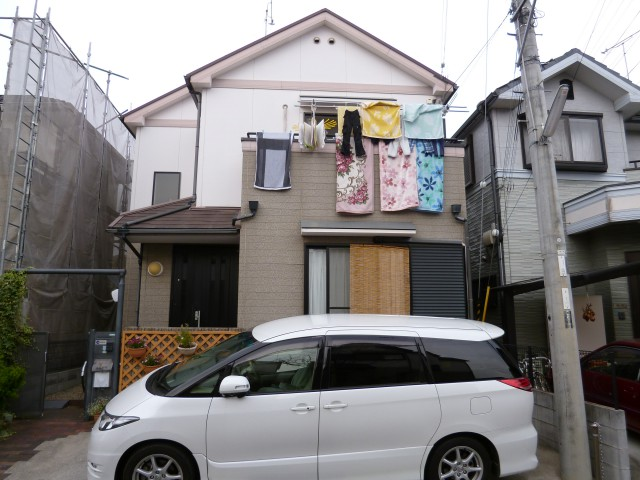 塗装前の兵庫県神戸市Y様邸