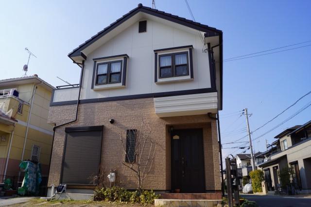 塗装後の兵庫県加古川市O様邸
