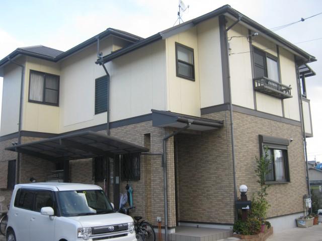 塗装前の兵庫県加古川市I様邸